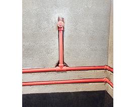 卫生间污水斗排自来水管