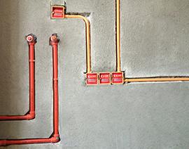 厨房热水器排自来水管