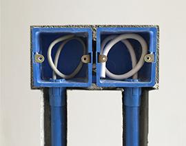 弱电插座底盒排放