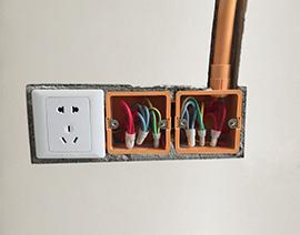 强电插座底盒排放
