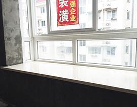 窗台大理石铺贴后效果