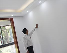 墙面涂料目测检查