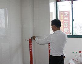 瓷砖阳角90度检查