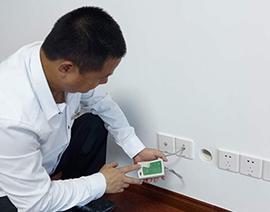 弱电插座安装后测通检查