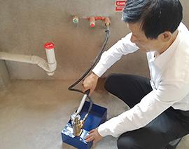自来水管测压检查
