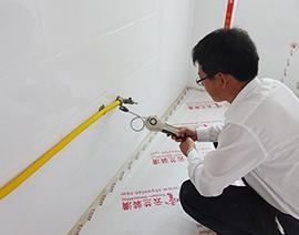 煤气管电子检测仪测漏检查