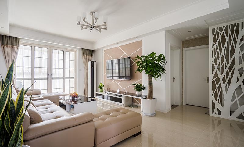 聚丰福邸现代风格-极简92平方两房一厅