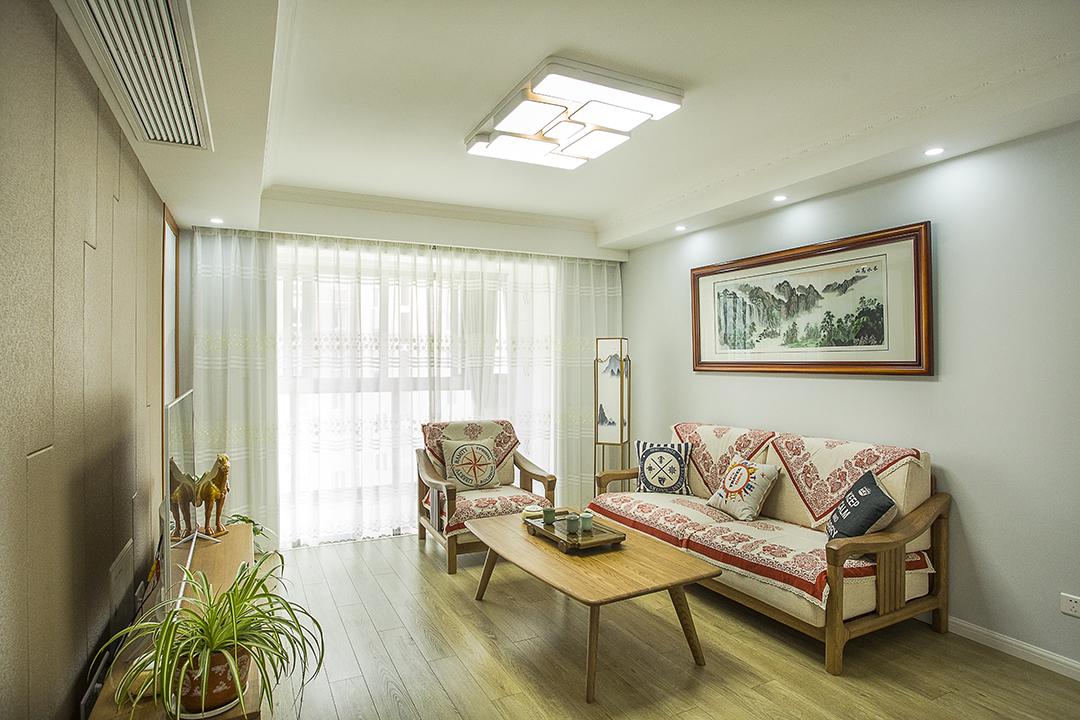 塔源路150弄新月明珠园72.8平方米新中式-给你一个温馨的家