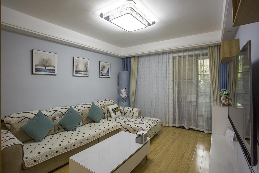 上海市宝山区美安路218弄美罗家园罗贤苑现代简约设计风格