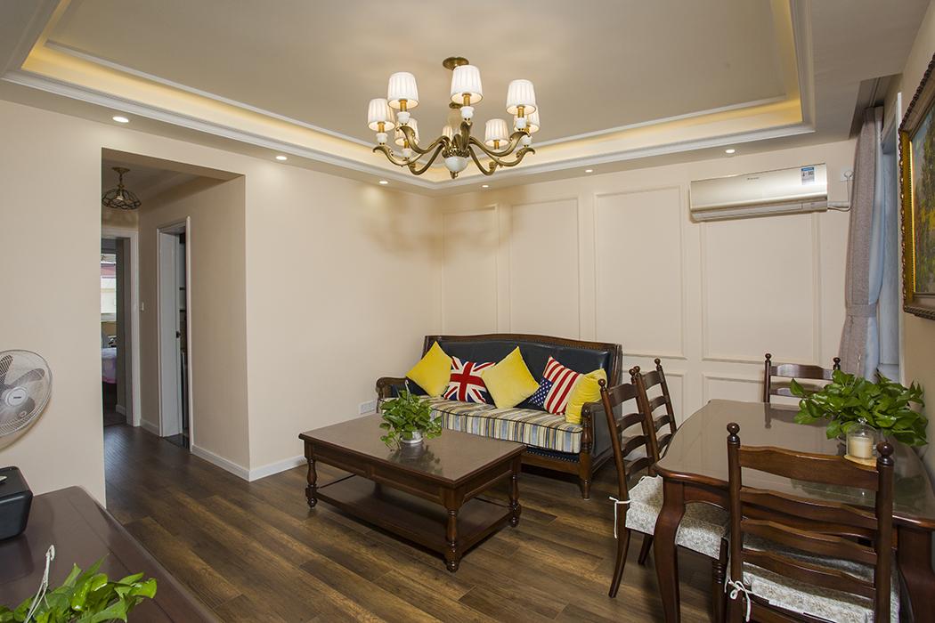 保德路1316弄保德公寓翻新装潢极简美式设计风格