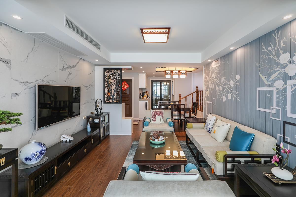 泗塘八村两室一厅老房装修现代混搭的风格