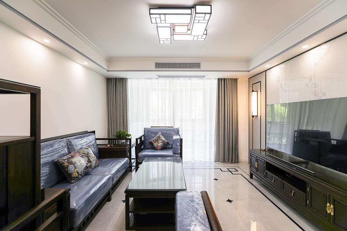 简洁明快、通透大气、时尚经典、雍容华贵的新中式风居家装修
